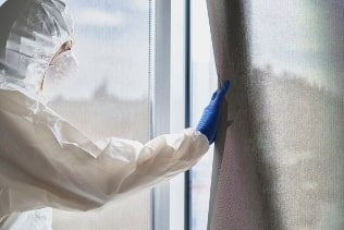 curtain cleaning disinfection